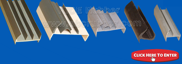 T shape rubber seal extrusion profiles