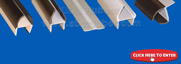 Rectangle and cord profile solid rubber extrusions