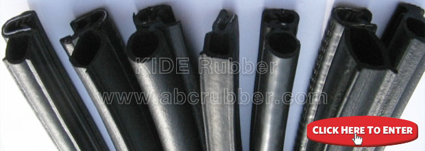 e shape silicion rubber extrusions