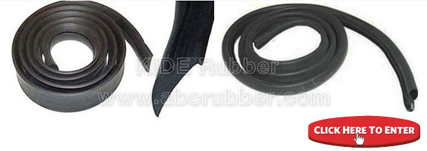 Tractor rubber extruded